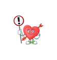 a picture cartoon mascot arrow love rise up