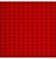 Abstract red circle background vector image vector image