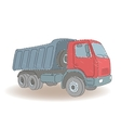 Colored tipper vector image vector image