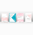 cover page design templatestylish brochure layout vector image