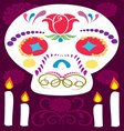 Day of the Dead 6 vector image vector image