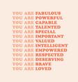feminist wall art poster print girl power graphic vector image vector image