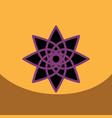 flat icon design collection ramadan vector image vector image