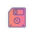 floppy disk icon sign symbol vector image