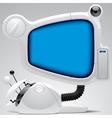 Futuristic electronic gear vector image vector image