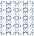 physics atom chemistry science education vector image