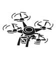 research drone icon simple style vector image vector image