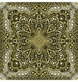 seamless gold pattern of spirals swirls vector image