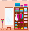 Wardrobe room vector | Price: 3 Credits (USD $3)