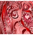 abstract floral decorative background vector image vector image