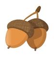 acorn cartoon icon