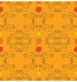 Autumn seamless pattern art vector image