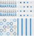 Babies nursery design vector image vector image