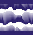 chaotic waves seamless pattern curve lines vector image vector image