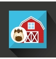 farm countryside animal design vector image