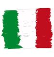 Flag of Italy handmade vector image