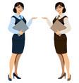 hostess vector image