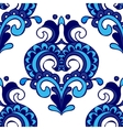 Luxury Damask flower pattern for fabric vector image vector image