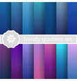 purple trendy set ultraviolet vector image