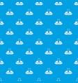repair company pattern seamless blue vector image vector image