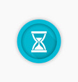 sand clock hourglass icon symbol vector image