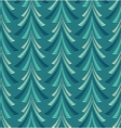 Seamless Christmas pattern Firs trees on blue vector image