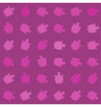 seamless colorful turtle pattern with lines vector image vector image