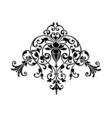 stencil ornament vector image vector image