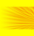 yellow orange modern background vector image vector image