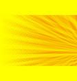 yellow orange modern background vector image vector image