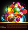 abstract artwork vector image vector image