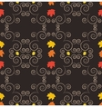Autumn seamless pattern art vector image vector image