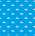 canvas sneaker pattern seamless blue vector image vector image