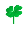 Clover leaves isometric 3d icon vector image vector image
