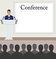Conference room vector image vector image