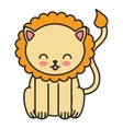 cute animal tender isolated icon vector image vector image