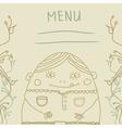 fanny man menu vector image
