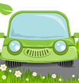 nature car vector image vector image