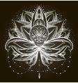 ornamental Lotus vector image vector image