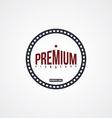 premium label theme vector image vector image
