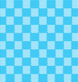 blue white seamless fabric texture pattern vector image