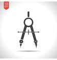 compasses icon Eps10 vector image vector image