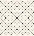 diagonal lattice seamless floral pattern vector image vector image