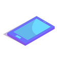 isometric simple icon vector image vector image