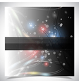 Smooth colorful abstract glowing background vector image vector image