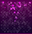 abstract background with hearts valentine day vector image vector image