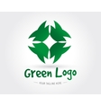 Abstract logo template for branding and vector image