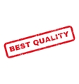 Best Quality Text Rubber Stamp vector image vector image