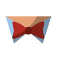 bow tie fashion vector image vector image