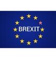 Brexit Great Britain politic process vector image
